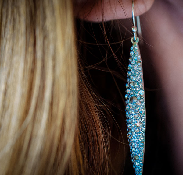 Earring-close-up